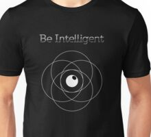 Be Intelligent Erudite Eye - White Unisex T-Shirt