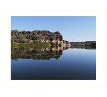 Geikie Gorge, Western Australia Art Print