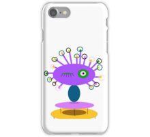 ART COLLECTABLE, POLLY DOLLOPS lavendar iPhone Case/Skin