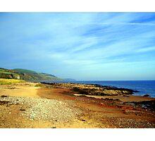 Bright Beach Scene Photographic Print