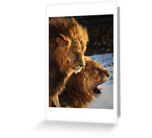 Grumpy Brothers Greeting Card