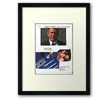 President Crack Head Framed Print