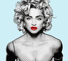 Madonna  by Everett Day
