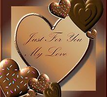 Valentine card by Kristin Wertman