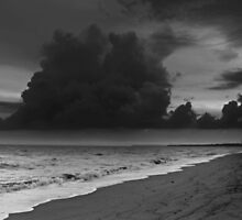 A summer storm heading for Pialba Beach by myraj