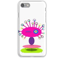 ART COLLECTABLE, POLLY DOLLOPS pinkie iPhone Case/Skin