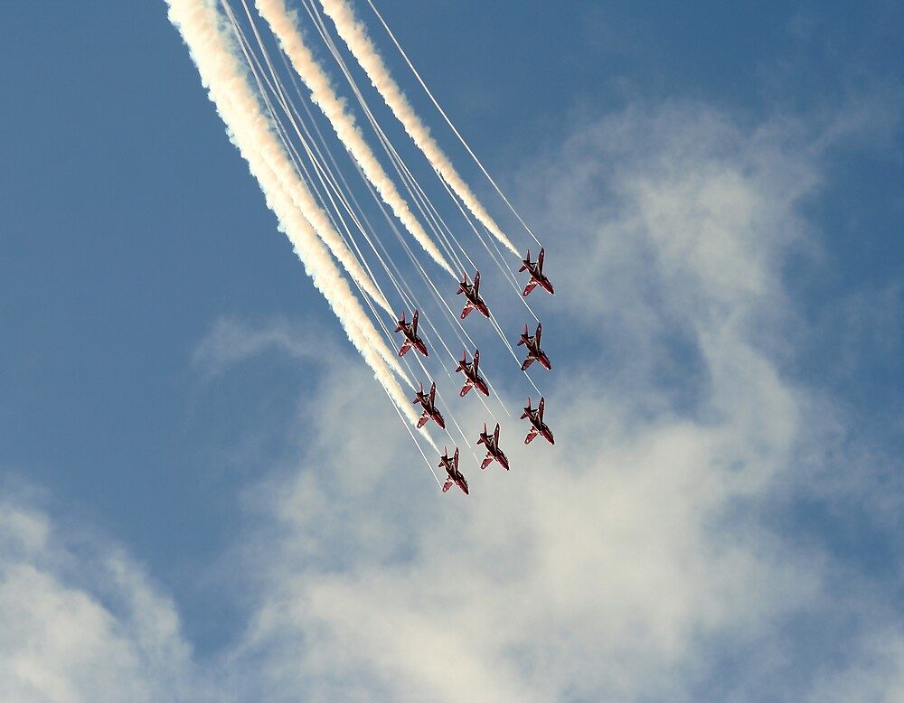 The Red Arrows on strings by PhilEAF92