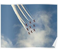 The Red Arrows on strings Poster