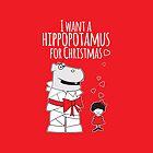I Want a Hippopotamus for Christmas by samedog