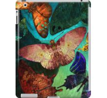 Butterfly Fantasy, Whimsical  Colorful Hand Drawn Butterflies iPad Case/Skin
