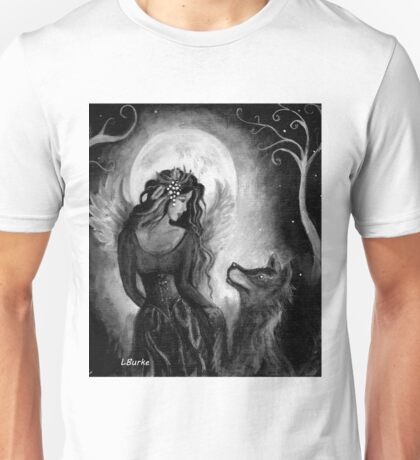Angel Wolf by studio BURKE Unisex T-Shirt