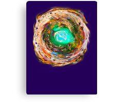 Cool Cosmic Lava Canvas Print