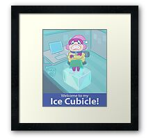 Ice Cubicle Framed Print