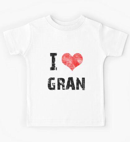 I Love Gran Kids Tee