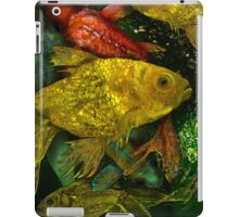 Goldfish Fantasy, Whimsical  Colorful Hand Drawn Exotic Fish iPad Case/Skin
