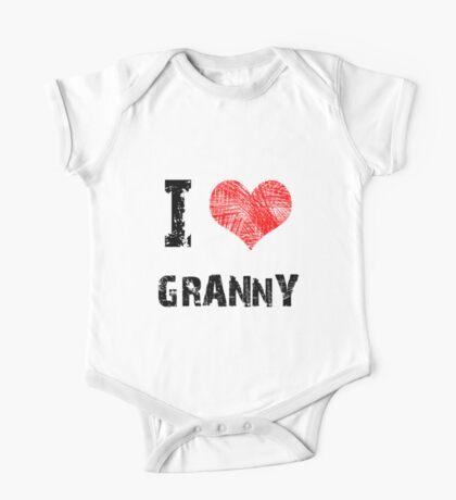 I Love My Granny One Piece - Short Sleeve
