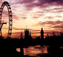 London Silhouette by Michael Farruggia