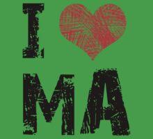 I Heart Ma Kids Tee