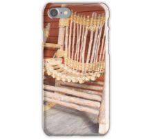 Rustic rocker iPhone Case/Skin