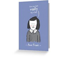 Anne Frank Greeting Card