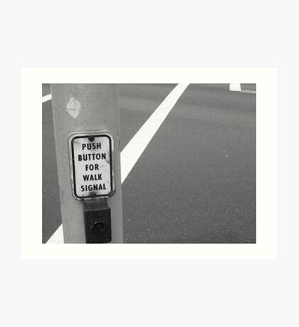 Crossing Union Art Print