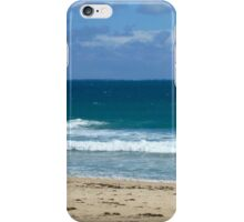 Cottesloe Beach in winter iPhone Case/Skin