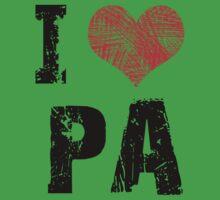 I Love Pa Baby Tee