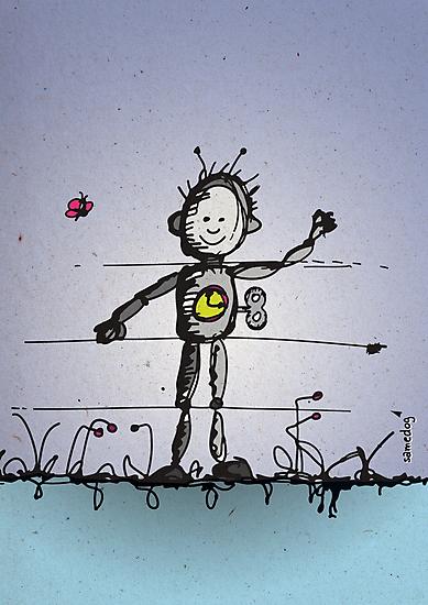 Robot Boy by samedog