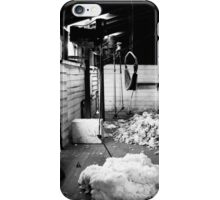 Brickendon Shearing Shed iPhone Case/Skin