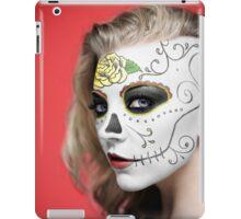 Natalie Dormer Dia de Los Muertos Day of the Dead MakeUp iPad Case/Skin