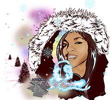 Hooded SnowBelle by Urban Digitz