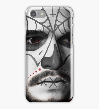 Kit Harington Day of the Dead Dia de los Muertos Makeup iPhone Case/Skin