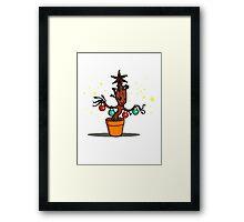 Groot Christmas Framed Print