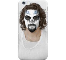 Jason Momoa Day of the Dead Dia de los Muertos Makeup iPhone Case/Skin