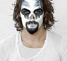 Jason Momoa Day of the Dead Dia de los Muertos Makeup by HilaryHeffron