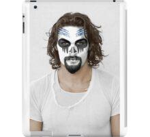 Jason Momoa Day of the Dead Dia de los Muertos Makeup iPad Case/Skin