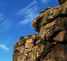 Craggy Profile by WatscapePhoto