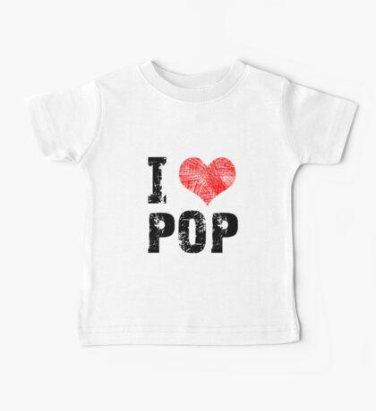 I Love Pop Baby Tee