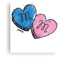 MM Candy Hearts Metal Print