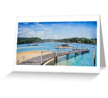 Winneerreny Bay Pittwater Greeting Card