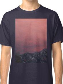 Rocky Mountain Sunset Classic T-Shirt