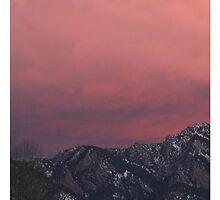 Rocky Mountain Sunset by Jane Holt