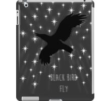 Black Bird Fly ~ Simplistic Design iPad Case/Skin
