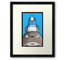 Totoro. Framed Print