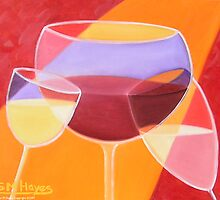 Cheers! by Sharon Geisen Hayes