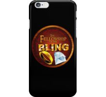 The Fellowship of the Bling iPhone Case/Skin