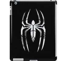 Black Suit Spider-Man Segmented Logo (Black Background) iPad Case/Skin