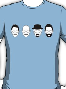 The transformation of Walter White. T-Shirt