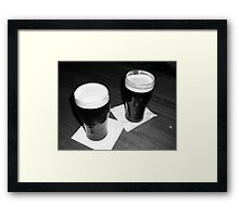 Irish Eyes Are Smiling Framed Print