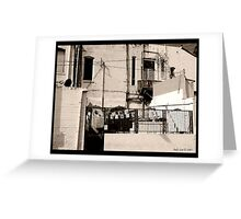 Rooms for Rent Greeting Card